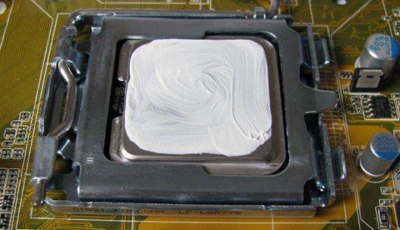 Замена термопасты на процессоре копмьютера в Иркутске